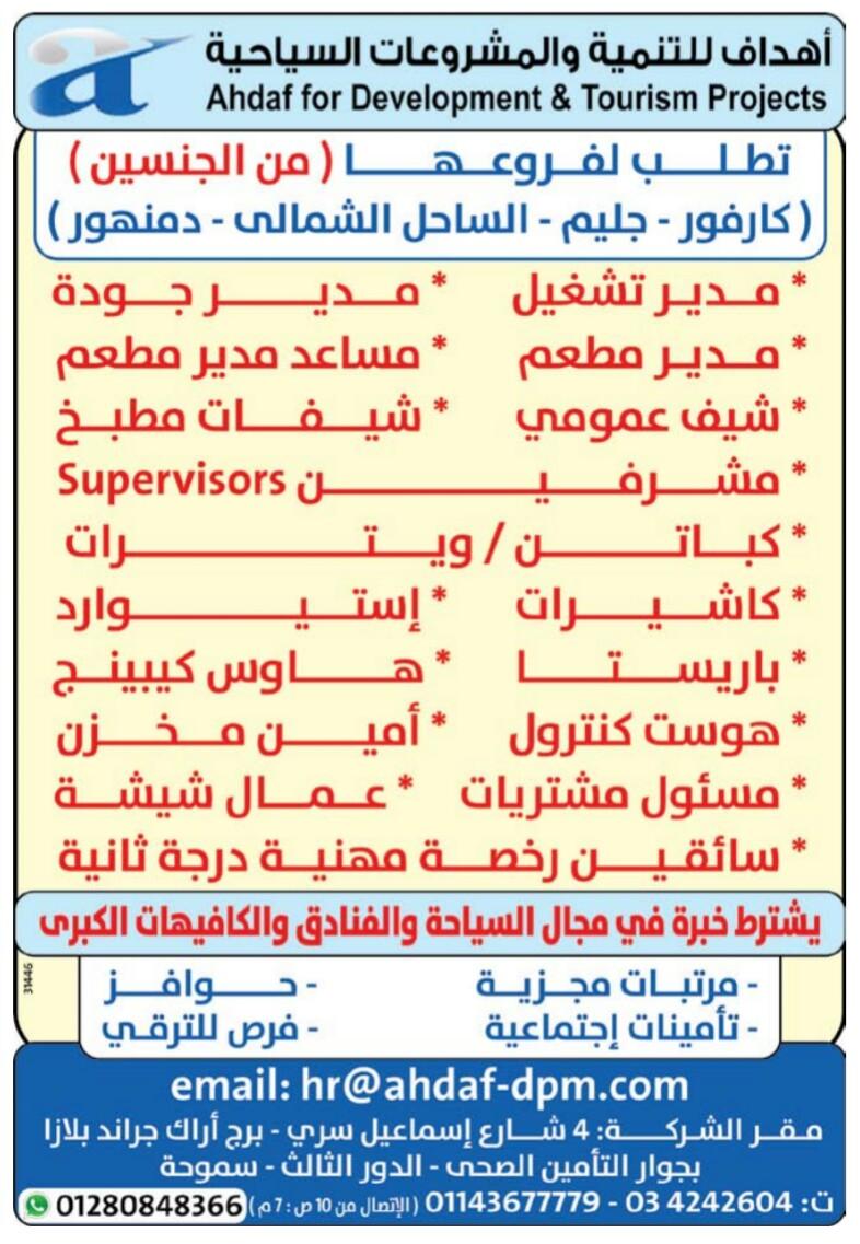 إعلانات وظائف جريدة الوسيط اليوم الاثنين 22/4/2019 19