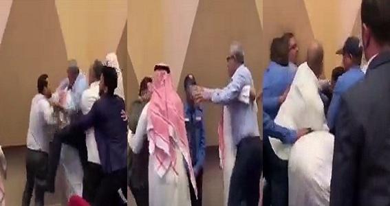 """مشاجرة بين مستشار قانوني مصري وبحرنيين  وأحد الحضور """"الشيعة فوق راسك"""" والقبض عليه وتحويله لمحاكمة جنائية بالبحرين"""