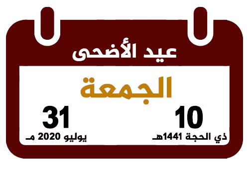 موعد شهر رمضان وعيد الفطر والأضحى بمصر والسعودية والدول العربية والإجازات والعطلات الرسمية لعام 2020 3