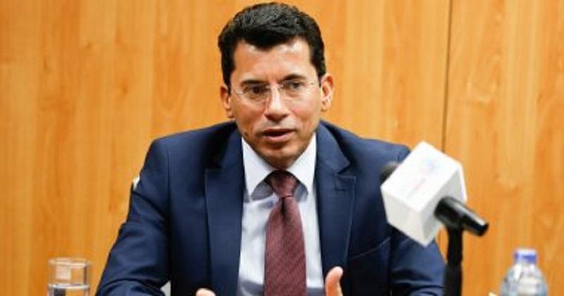 دكتور اشرف صبحي وزير الشباب