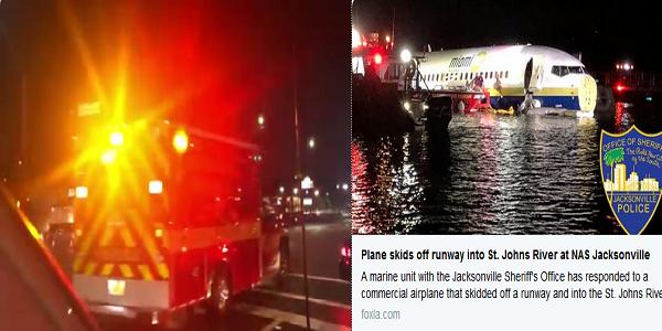 بالصور  سقوط طائرة بوينج 737 في نهر منذ قليل بأمريكا .. وبيان رسمي بالتفاصيل وعدد الركاب