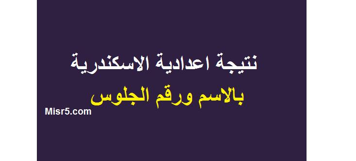 ظهرت نتيجة الشهادة الاعدادية 2019 محافظة الاسكندرية على موقع البوابة الالكترونية