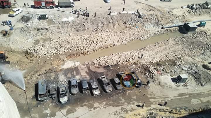 حريق غاز يلتهم 9 سيارات وتوك توك بالإسكندرية منذ قليل.. وأول بيان أمني بالتفاصيل وحجم الخسائر 1