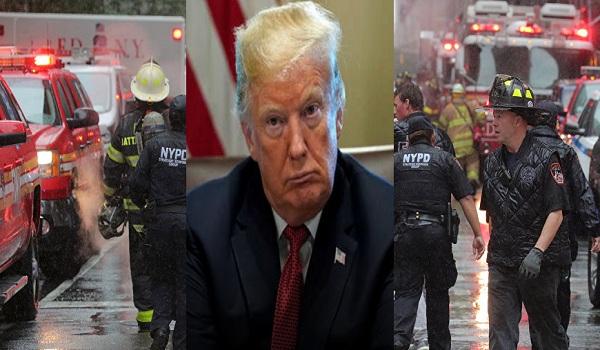 عاجل| أول تعليق للرئيس الأمريكي على حادث تصادم طائرة بمبنى في نيويورك منذ قليل وعدد الضحايا حتى الآن