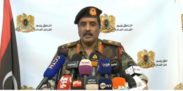 عاجل.. المتحدث باسم الجيش الليبي: «أوامر بالقبض على الأتراك.. وليبيا تتعرض لغزو تركي»
