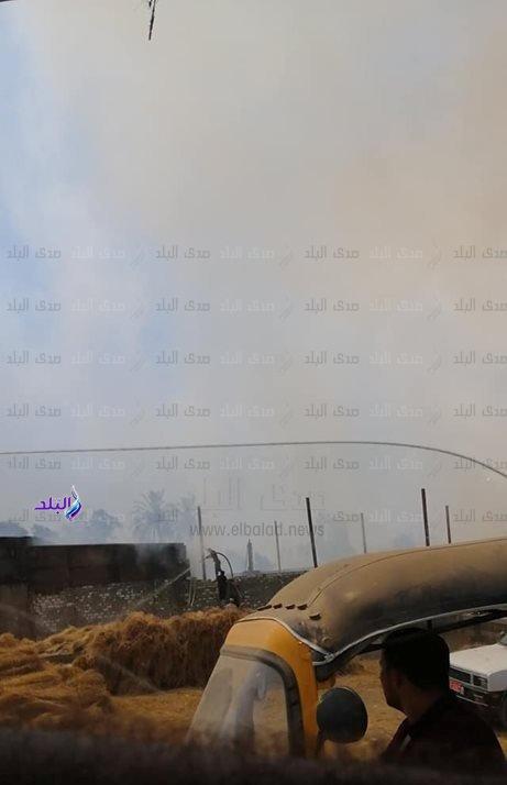 بالصور| نشوب حريق بمصنع كتان على مساحة 15 فدان بالغربية منذ قليل والسيطرة عليه.. والداخلية تكشف التفاصيل وحجم الخسائر حتى الآن 1