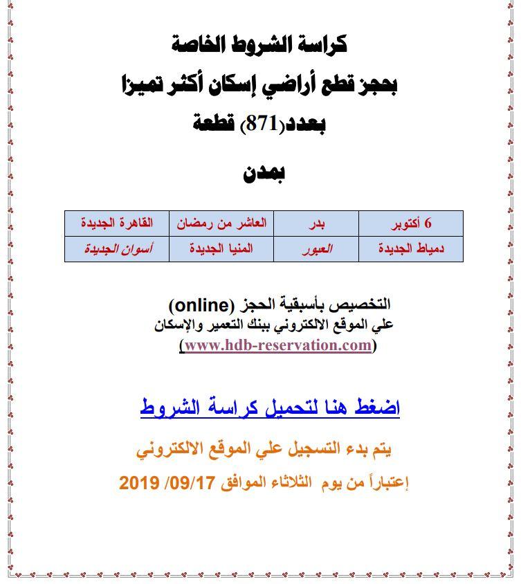 فتح باب الحجز بمشروع «سكن مصر» ننشر كراسة الشروط والوحدات المتاحة 1