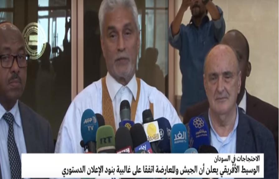 التوصل لاتفاق بين المجلس العسكري والمعارضة في السودان على إعلان دستوري