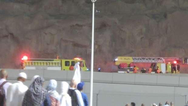 بالصور| انتهاء حيلة حاج مخالف بالفشل والأمن السعودي يتدخل لإنقاذه 1