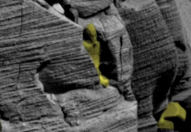 بالفيديو  العثور على آثار فرعونية على سطح المريخ