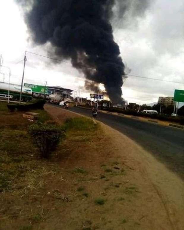 بالصور| مصرع 61 شخصاً وإصابة 70 آخرون في انفجار صهاريج وقود في تنزانيا 1