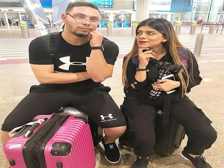 بعد الهجوم عليه.. أحمد حسن وزوجته زينب يغادران مصر ويوجه رسالة من المطار لمتابعيه.. صور 1