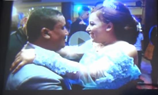 بالفيديو والصور| تفاصيل جديدة تكشفها عروس حادث انفجار معهد الأورام