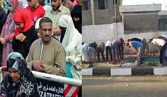 """بالفيديو والصور """"كل جماعة لهم قبلة ورجال ونساء مع بعض وأغاني أثناء الصلاة"""" أول تعليق للإفتاء على ما حدث في صلاة العيد اليوم"""