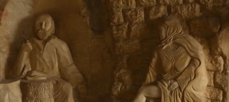 بولندي يجعل من أحد الأديرة في القاهرة تحفة فنية ومزاراً سياحياً 1