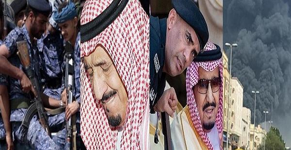"""""""3 أخبار هزت السعودية اليوم"""" مقتل الحارس الشخصي للملك سلمان وحريق مروع بمحطة قطار الحرمين وأسر 2000 جندي سعودي"""