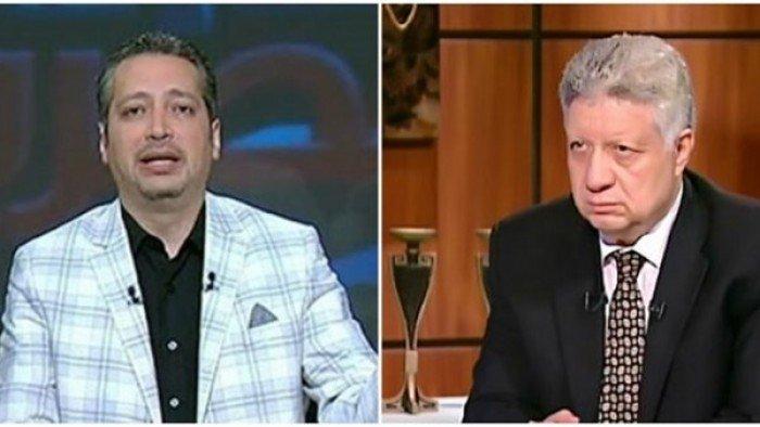 بالفيديو| مرتضى منصور يهدد تامر أمين بسبب شيكابالا