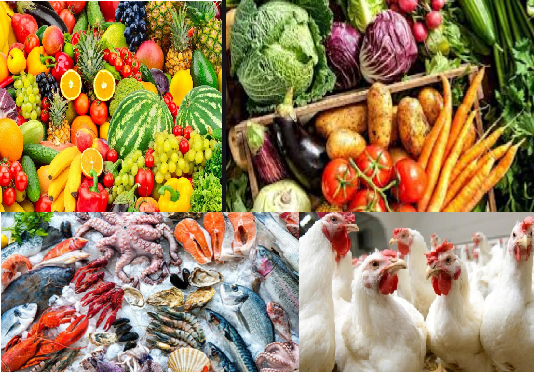 أسعار الفاكهة والخضراوات والأسماك والدواجن اليوم الاحد 13 أكتوبر في السوق المصرية
