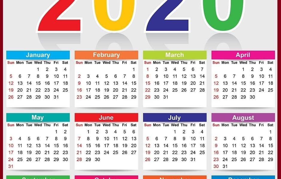 مواعيد العطلات والمناسبات الرسمية في مصر 2020 – نتيجة العام الميلادي 2020 والهجري 1441