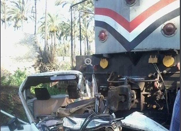 """""""بالصور"""" ننشر أسماء القتلى والمصابين بحادث قطار رشيد والصور الأولى من موقع الحادث 1"""