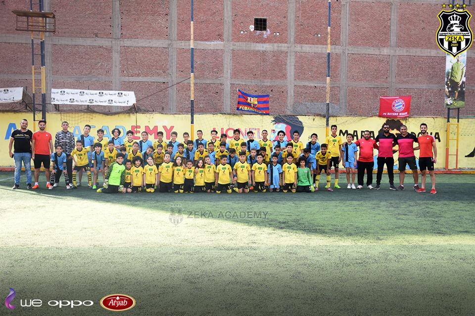 بالصور... أكاديمية أسامة وبشير في ضيافة أكاديمية زيكا لكرة القدم بالمحلة في يوم رياضي رائع 1
