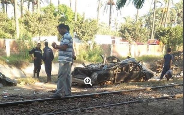 """""""بالصور"""" ننشر أسماء القتلى والمصابين بحادث قطار رشيد والصور الأولى من موقع الحادث 2"""