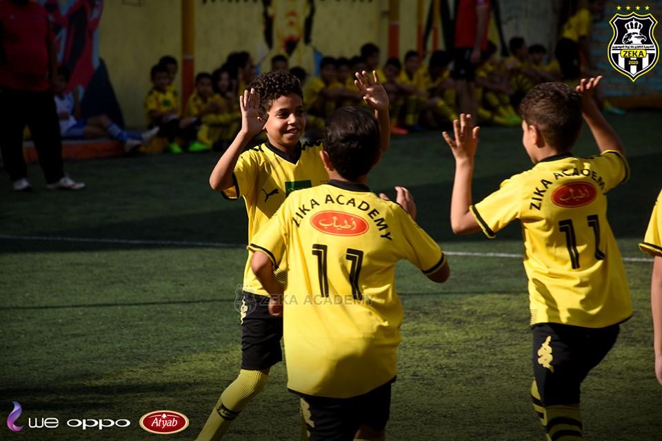 بالصور... أكاديمية أسامة وبشير في ضيافة أكاديمية زيكا لكرة القدم بالمحلة في يوم رياضي رائع 16