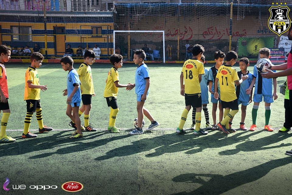 بالصور... أكاديمية أسامة وبشير في ضيافة أكاديمية زيكا لكرة القدم بالمحلة في يوم رياضي رائع 21