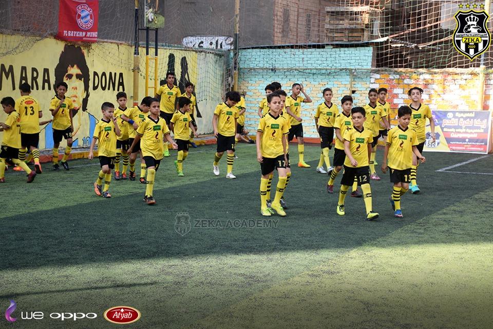 بالصور... أكاديمية أسامة وبشير في ضيافة أكاديمية زيكا لكرة القدم بالمحلة في يوم رياضي رائع 26