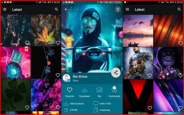أفضل ثلاثة تطبيقات مدفوعة توفر لك ألالاف الخلفيات والصور بجودة 4D مجانا لفترة محدود