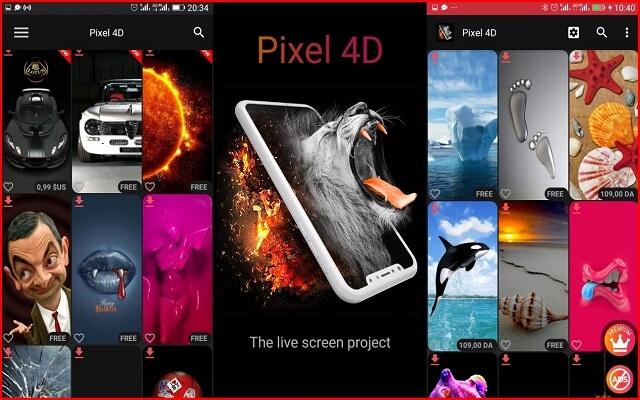 أفضل ثلاثة تطبيقات مدفوعة توفر لك ألالاف الخلفيات والصور بجودة 4D مجانا لفترة محدو
