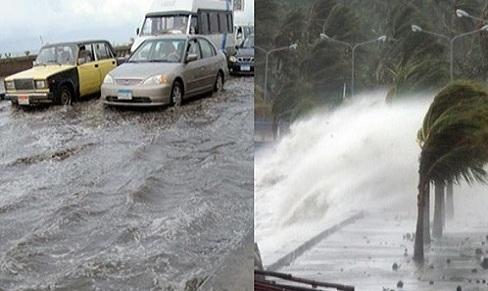 عاجل| سيول وأمطار غزيرة ببعض المدن والمحافظات المصرية منذ قليل تغرق الشوارع وتقطع الكهرباء والإنترنت وتحذيرات من طقس الجمعة