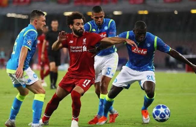 موعد مباراة ليفربول ضد نابولي اليوم في دوري أبطال أوروبا