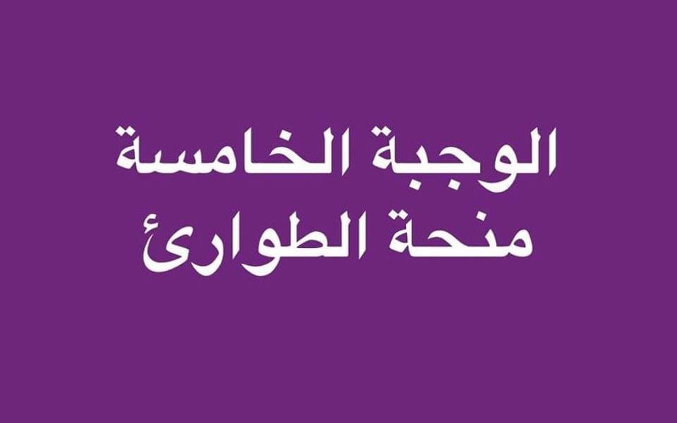 طالع الآن أسماء الوجبة الخامسة بمنحة الطوارىء بالعراق 2019