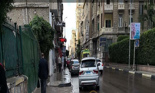 عاجل بالصور| هطول أمطار على الإسكندرية منذ قليل في آخر أيام «قاسم».. وتحرك سريع من شركة المياه 1