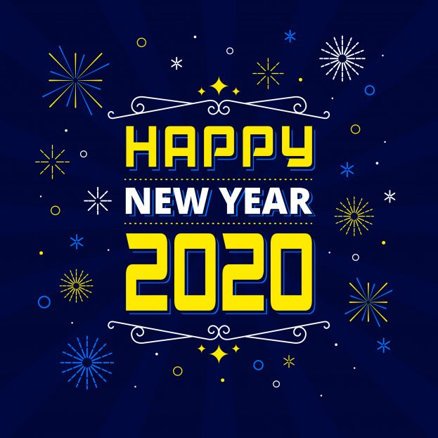 صور ورسائل تهنئة بالعام الميلادي الجديد 2020 مسدجات السنة الجديدة Happy New Year 6