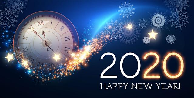 صور ورسائل تهنئة بالعام الميلادي الجديد 2020 مسدجات السنة الجديدة Happy New Year 7