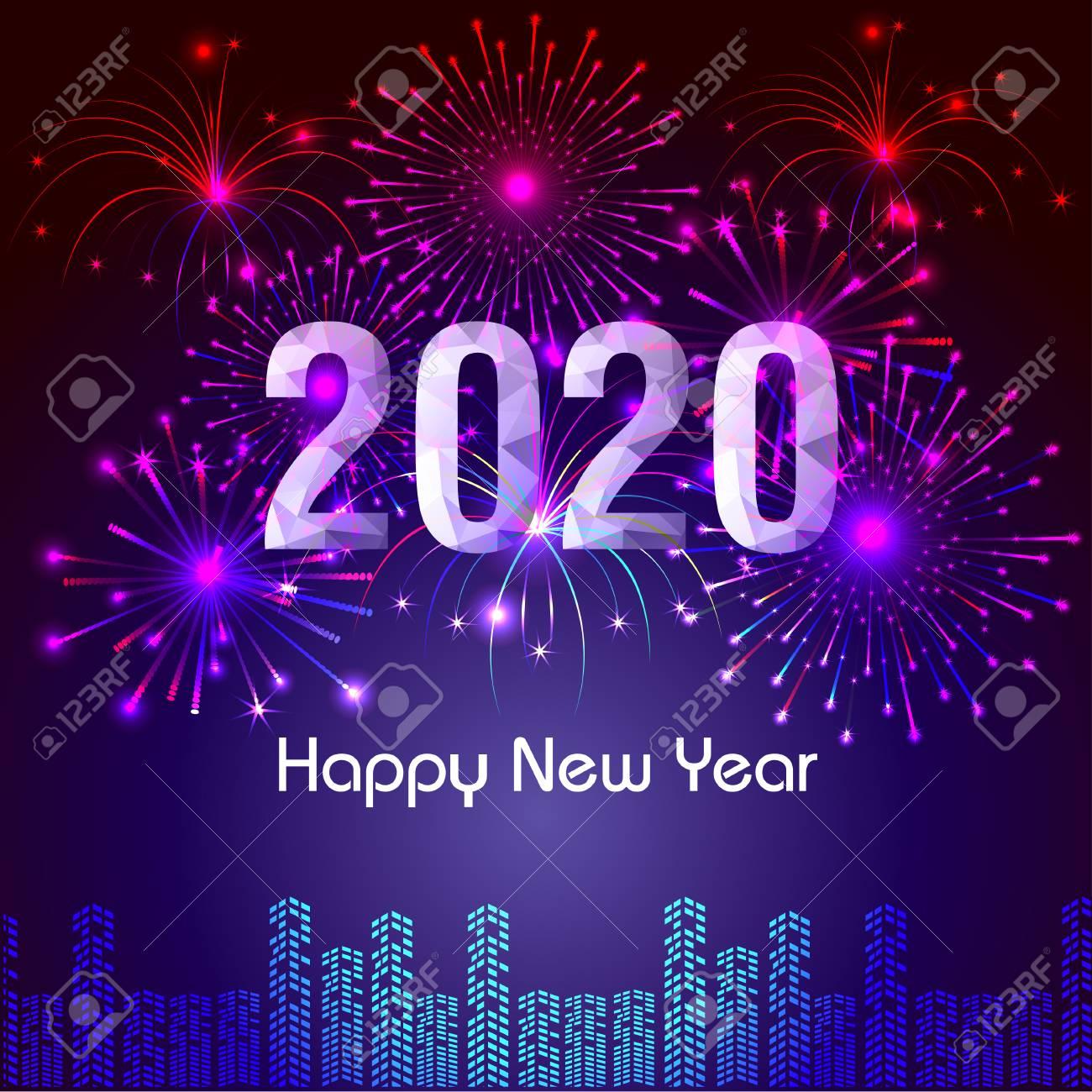 صور ورسائل تهنئة بالعام الميلادي الجديد 2020 مسدجات السنة الجديدة Happy New Year 2
