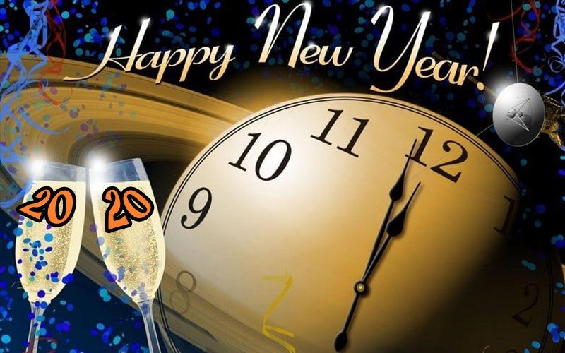 صور ورسائل تهنئة بالعام الميلادي الجديد 2020 مسدجات السنة الجديدة Happy New Year 4