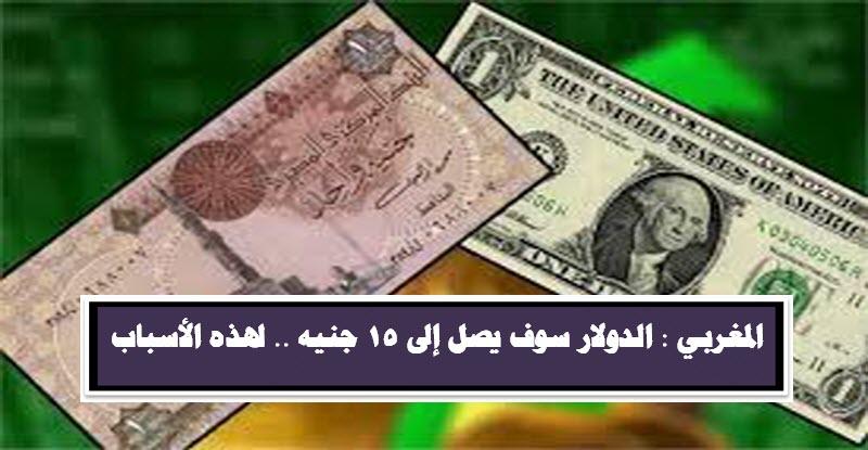 نائب رئيس بنك مصر | الدولار سوف يصل إلى 15 جنيه .. لهذه الأسباب
