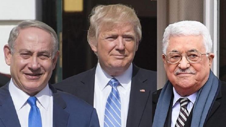 """""""بث مباشر"""" بعد إعلان ترامب ونتنياهو رسمياً عن صفقة القرن.. أبو مازن فلتذهب صفقتكم إلى الجحيم ولن تمر صفعة القرن"""