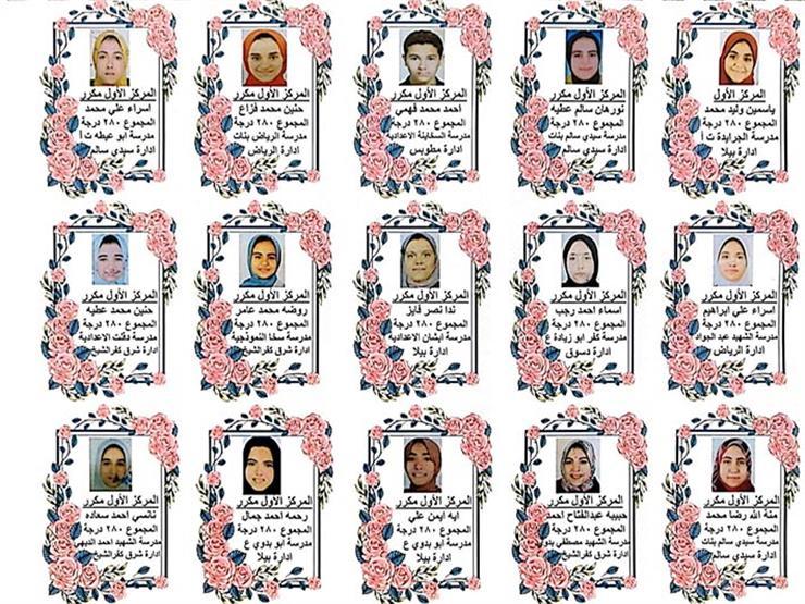 نتيجة الشهادة الإعدادية محافظة كفر الشيخ الترم الثاني 2020 ظهرت الآن 1