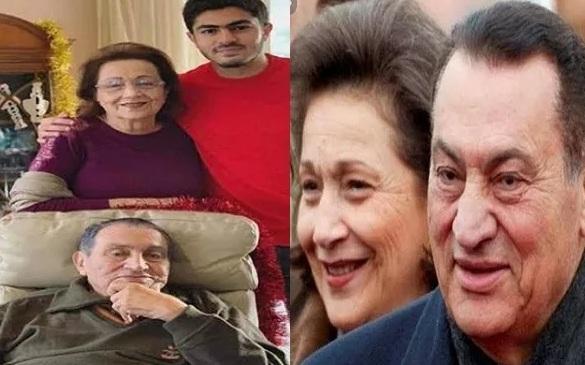 حفيد مبارك ينشر أول صورة لجده بعد إجراءه عملية جراحية دقيقة بالمستشفى العسكري وتفاصيل حالته الصحية الآن 2