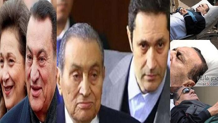 حفيد مبارك ينشر أول صورة لجده بعد إجراءه عملية جراحية دقيقة بالمستشفى العسكري وتفاصيل حالته الصحية الآن