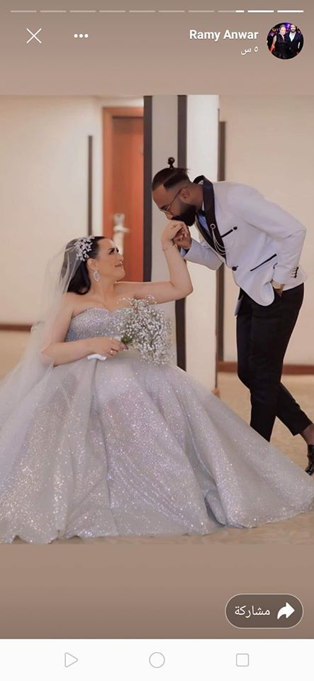 """بالفيديو والصور """"أجمل عروسة على كرسي متحرك"""" شاهد ماذا فعل عريس مصري مع عروسة المعاقة ليلة الدخلة 2"""