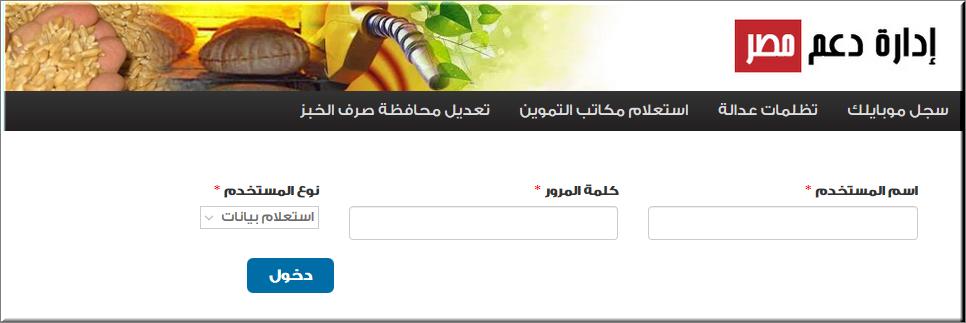 موقع دعم مصر 2020 خطوات تسجيل رقم الموبايل ببطاقة التموين.. ماذا تعني رسالة خطأ 904 ؟ 5