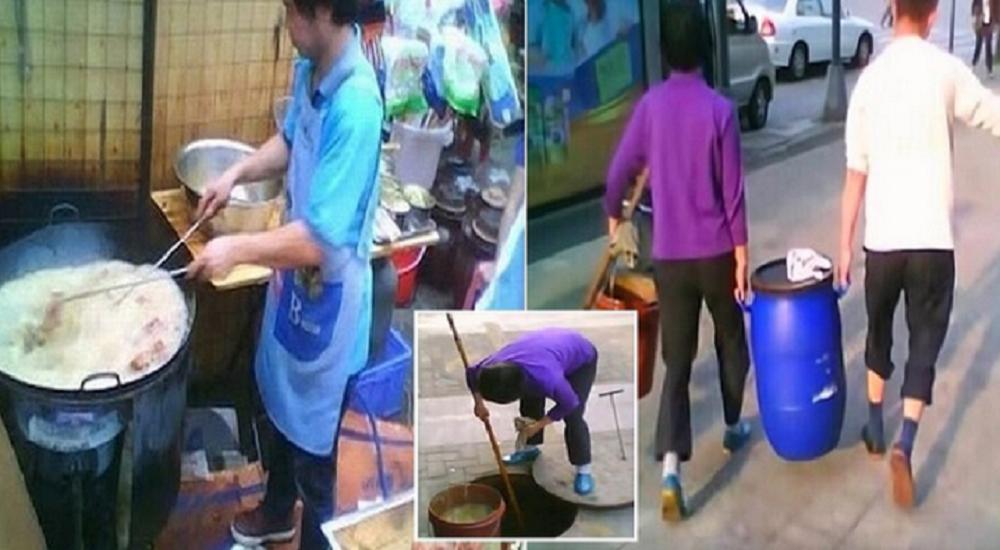Daily Star تنشر فيديو صادم لقيام صينيين بتحويل فضلات المجاري لزيوت تُطبخ بها أشهر الأطعمة