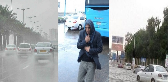 أمطار غزيرة وبرودة شديدة والحرارة 1 تحت الصفر بهذه المنطقة.. توقعات الأرصاد لطقس اليوم الإثنين بالدرجات والتفاصيل