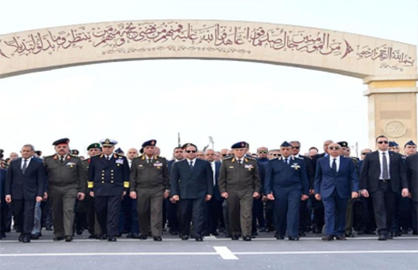 السيسي يتقدم الجنازة العسكرية للفريق «أحمد نصر» اليوم.. ومن هو الفقيد؟صور