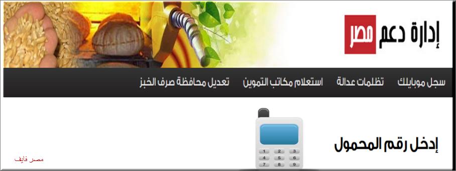 ادخل على بوابة موقع دعم مصر لتسجيل رقم الموبايل tamwin وسجل رقم الموبايل بالخطوات والصور 2020